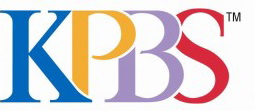 Logo for K P B S San Diego